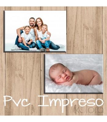 FOTOGRAFÍA IMPRESA SOBRE PVC