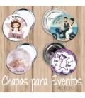 CHAPAS PARA EVENTOS